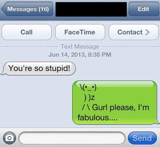 You're stupid - iPhone Fun Bild | Webfail - Fail Bilder und Fail Videos