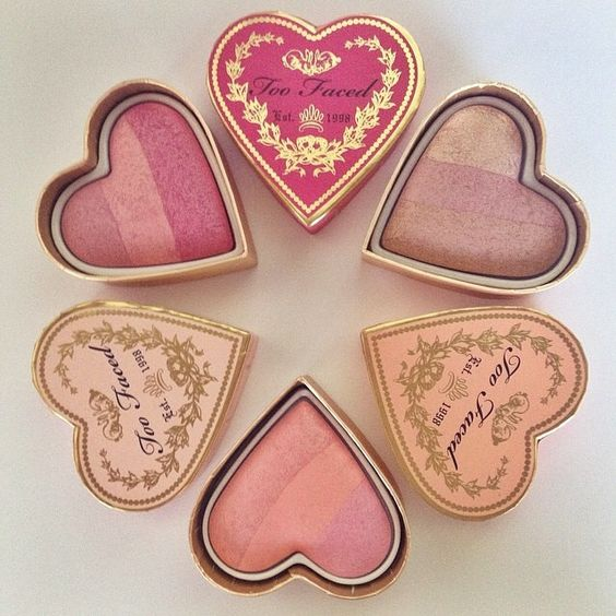 Fun Fact: Our Sweethearts Blush is baked in Italy for two days to achieve the perfect multidimensional color payoff.  - Too Faced