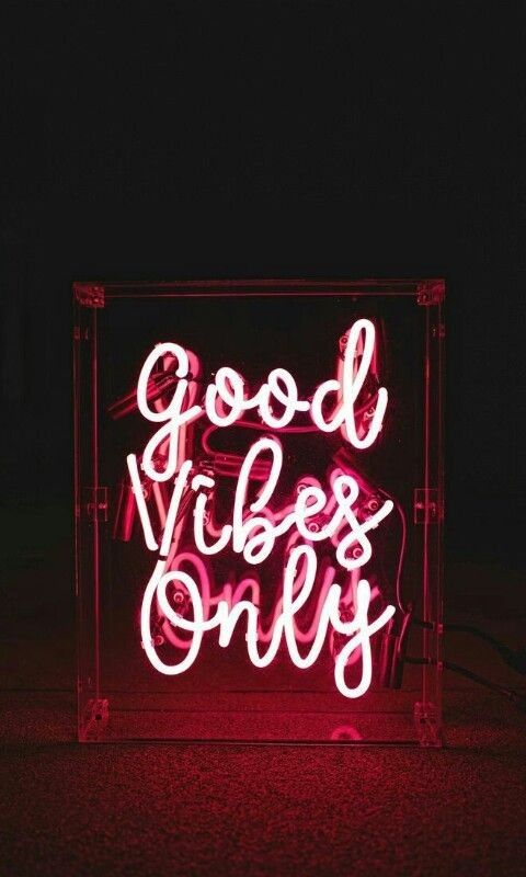 Good Vibes Only Neon Wallpaper Neon Wallpapers App Wallpaper Iphone Neon Neon Wallpaper Neon Quotes
