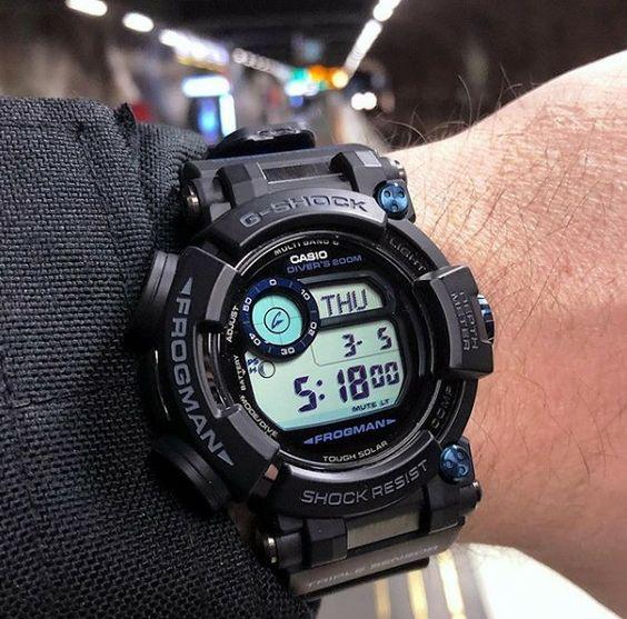 Casio Frogman Gwfd1000 Casio Frogman Casio Casio Watch