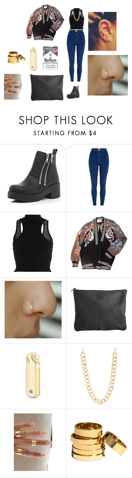 """""""I Ain't worry about nothin'"""" by missladiva ❤ liked on Polyvore featuring River Island, 3.1 Phillip Lim, Pieces, Jane Norman and H&M"""