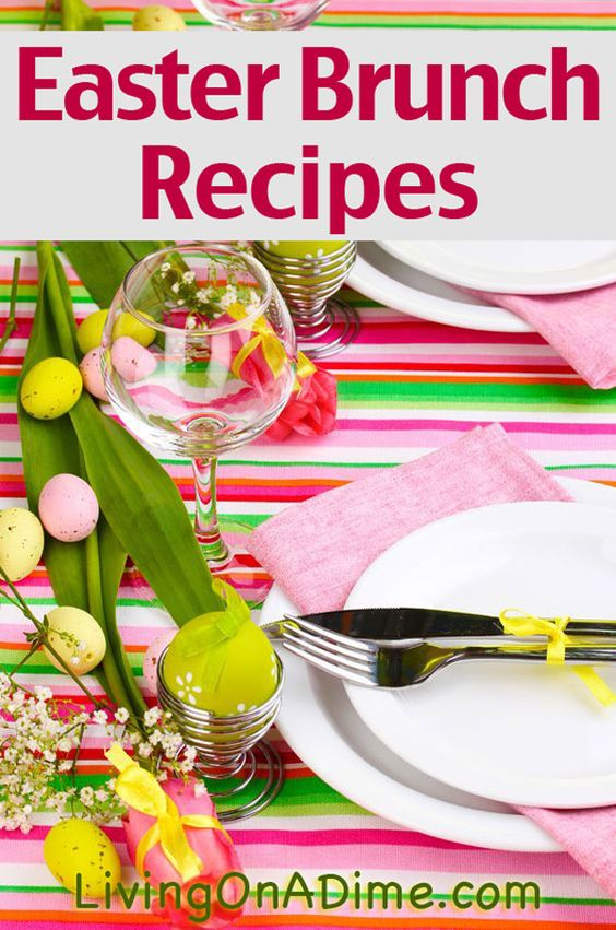 Easter brunch recipes menu and ideas crafts brunch and Easter brunch ideas