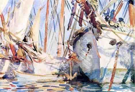 John Singer Sargent, White Ships on ArtStack #john-singer-sargent #art