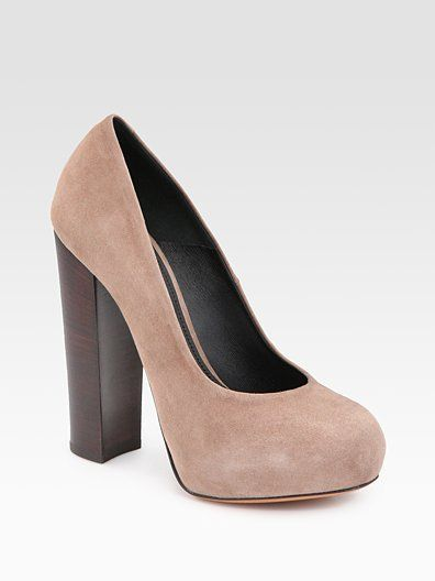 Brian Atwood - Need this nude stacked pump