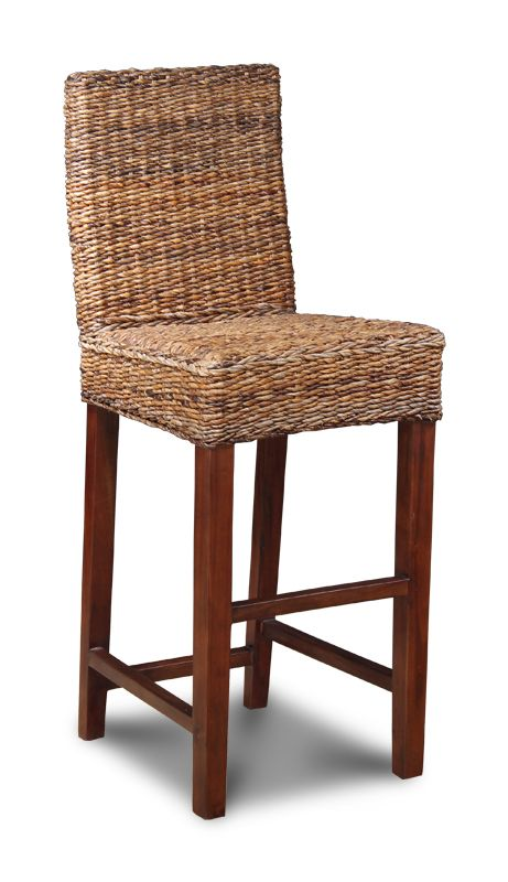 Havana Rattan Bar Stool With Back Home Pinterest