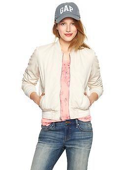Bomber jacket | FASHION - GAP For Women | Pinterest | Bomber