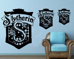 Harry Potter slytherin HUGE custom art... I've been missing out on so much.