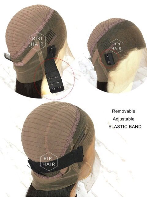 With A Adjustable Elastic Band Free Part High Ponytail 360