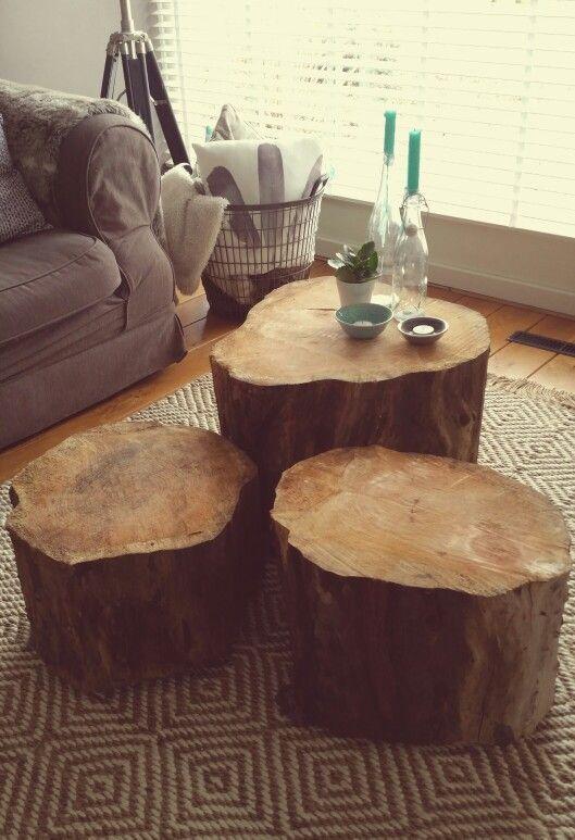 Sliced Trunk Coffee Tables Tree, Tree Trunk Furniture Uk