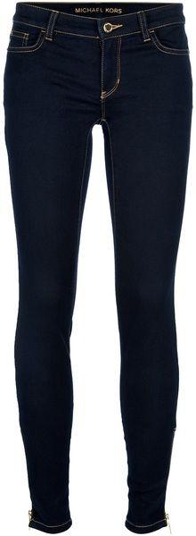Dark Wash Skinny Jeans. Pinterest; @su9su