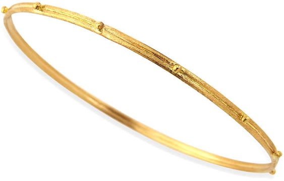 Intuition Stainless Steel Yellow Finish expect the Unexpected Cuff Bangle