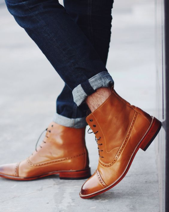 Fall boots. Sockless look by Taft | Wanted Style | Pinterest ...