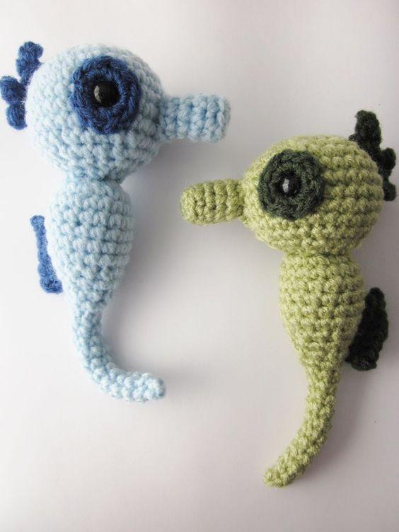 Free Amigurumi Seahorse : Amigurumi Seahorse Crochet Pattern Patrones, Croche y ...