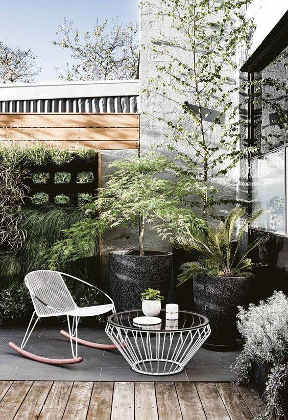 ガーデンチェア モダン コーディネート例 アルミ ポイント