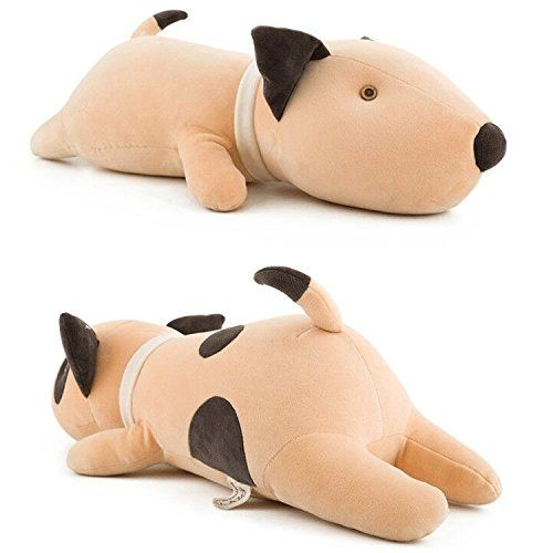 Bull Terrier Dog Big Hugging Pillow Soft Plush Toy Stuffed Animals