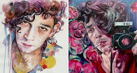 12 Pieces Of Matty Healy Fan Art That Are So Beautiful, Yet So Unaware Of It