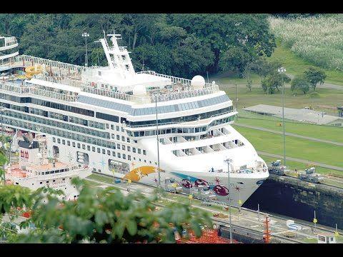 Reisen mit Kreuzfahrtschiff zu Panama-Kanal - YouTube