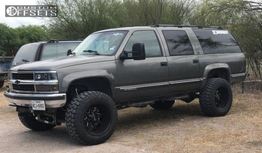 1999 Chevrolet K2500 Suburban Alloy Ion Style 181 Ironman All