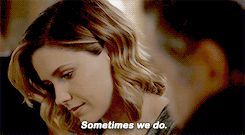 "Dr. Charles: ""We don't get to choose our parents."" Lindsay: ""Sometimes we do."" (3x03)"