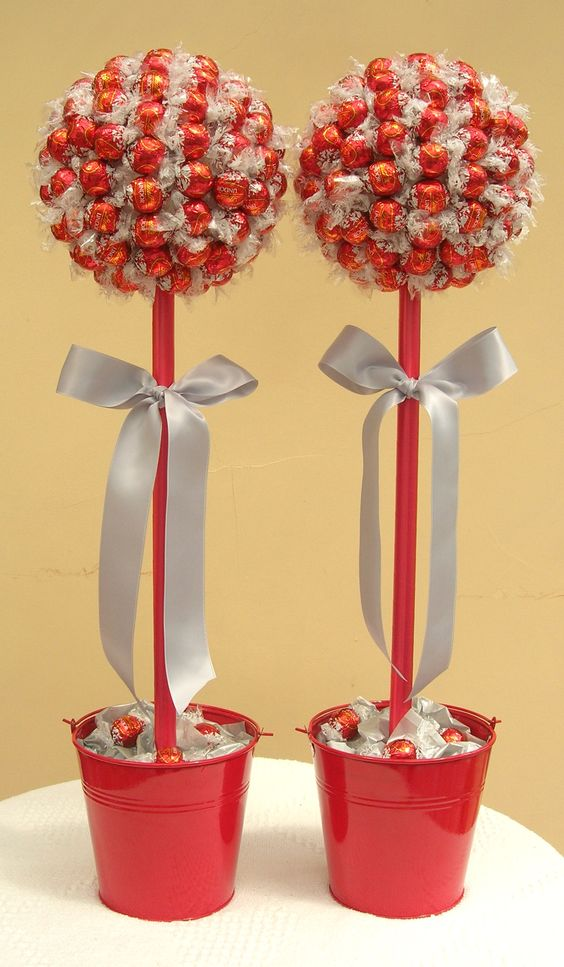 Wedding Lindor and silver sweet trees