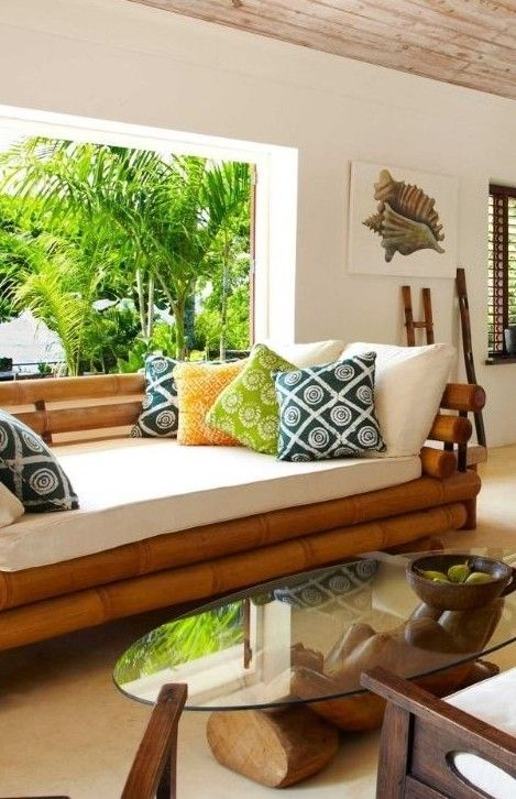 Bamboo is a natural material which has been used for furniture and home decoration purposes since ages.Here are few ideas to use them for a vintage look...