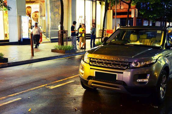 #RageRover #Evoque @ Harbour City,HK taken by #Nikon #D7000