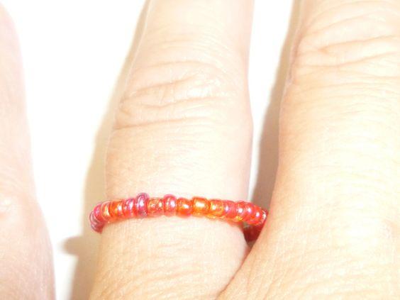Wechselringe - Farben Ringe - ein Designerstück von Zauberrose42 bei DaWanda