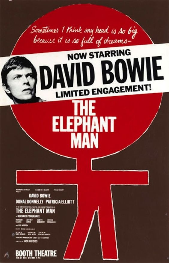 In 1980, he starred in the Broadway production of The Elephant Man.