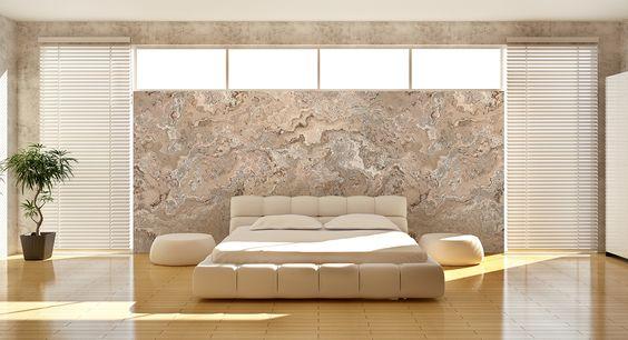 stein tapete wohnzimmer Dekoration Decorations Home İdeen ...