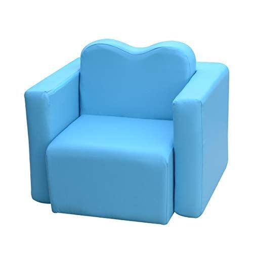 Lightweight Design Kids Sofa 2 In 1 Multi Functional Children