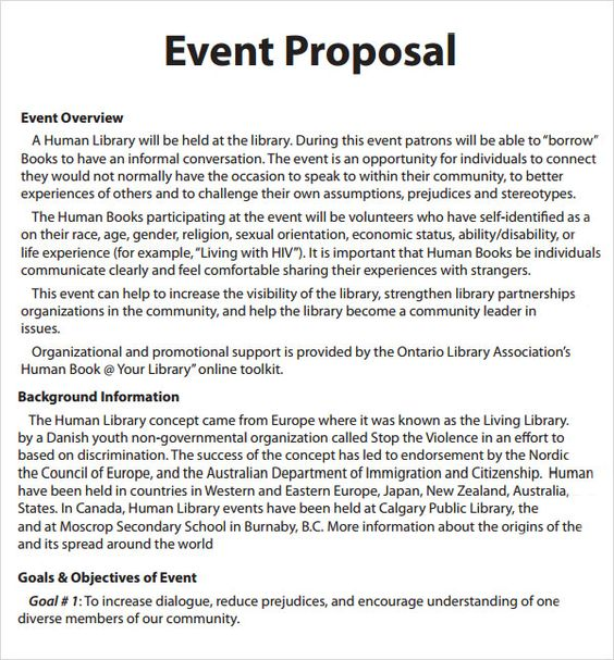 The 25+ best Event proposal ideas on Pinterest Event planners - proposal format for sponsorship of event