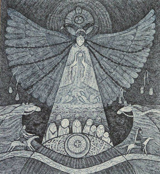 """Conoce a la peculiar Umay, la diosa que protege a los """"turcos"""""""