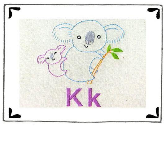 """""""K"""" is for Koala Pattern"""