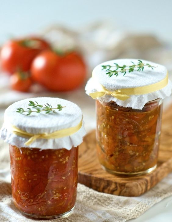 Tomato jam, Tomato jam recipes and Tomatoes on Pinterest