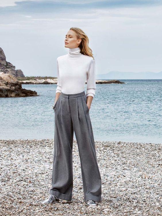 Risultati immagini per wide leg pants sewing pattern
