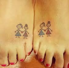 Resultado de imagen para tatuajes para amigas: