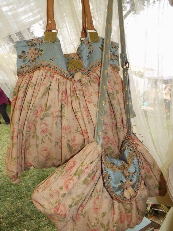 Tante bellissime borse in stile shabby chic il blog for Shabby chic blog italiani
