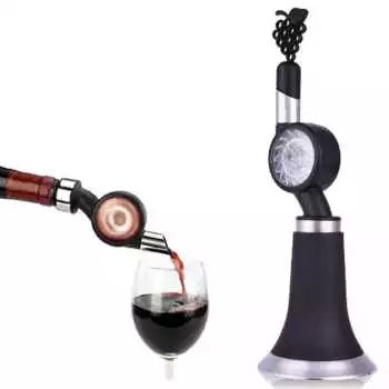 Hot Quick Wine Decanter Pourer Red Wine Aerator Stoper Filter Wine Accessories Carafon a vin aireador