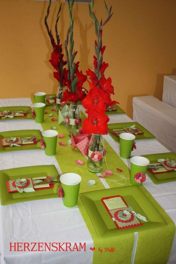Tischdeko herzenskram pinterest for Pinterest tischdeko