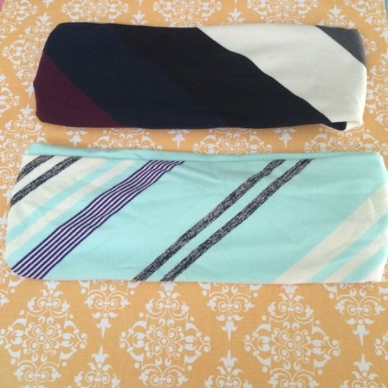 2 Lululemon headbands Headbands are in great condition. lululemon athletica Accessories Hair Accessories