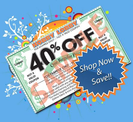 Hobby Lobby Sale Ad + 40% off coupon (in store  & online) savingwithselena.blogspot.com