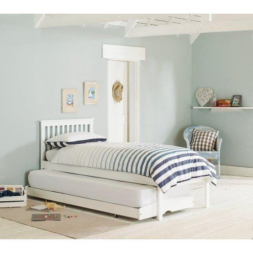 Clifton Single Bed Frame With Trundle House Additions Mattresses