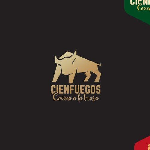 Cienfuegos Logo Para Un Restaurante Con Un Concepto Nuevo De