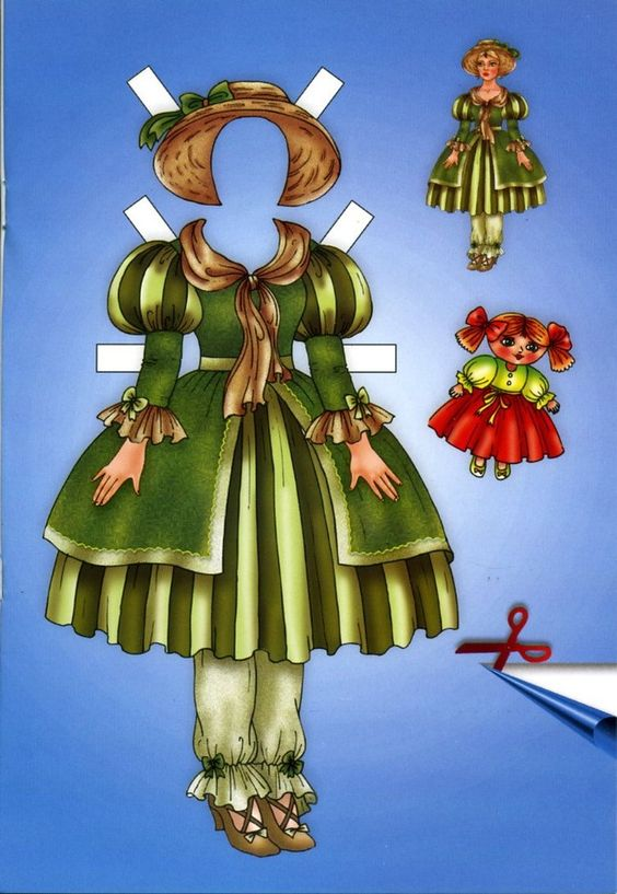 olga a russian doll | Pin by Mary Bornhoeft on Paper Dolls | Pinterest
