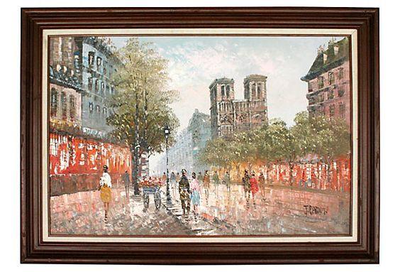 Notre Dame in Paris on OneKingsLane.com