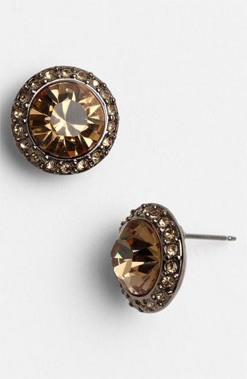 Givenchy 'Taylor' Stud Earrings | Nordstrom to match my watch :)