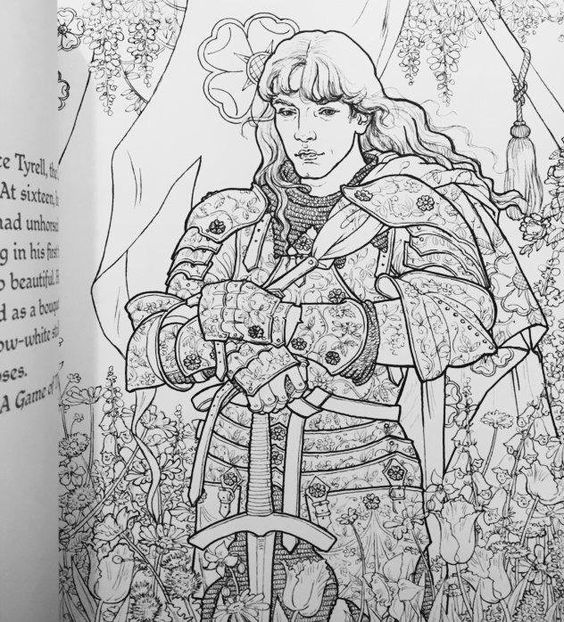 Coloring Books Game Of Thrones And Game Of On Pinterest
