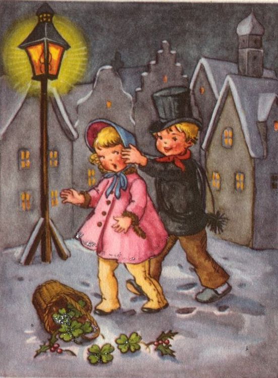Liselotte Fabig Distling Chimney-Sweeper:
