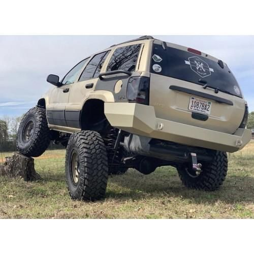 Jeep Wj Bumper Grand Cherokee Wj Rear Bumper W O Tire Carrier