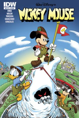 Mickey Mouse issue 311 Matterhorn cover.